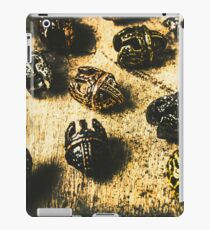 Ancient battlefield armour iPad Case/Skin