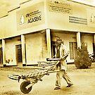 wheelman, rwanda by Melinda Kerr