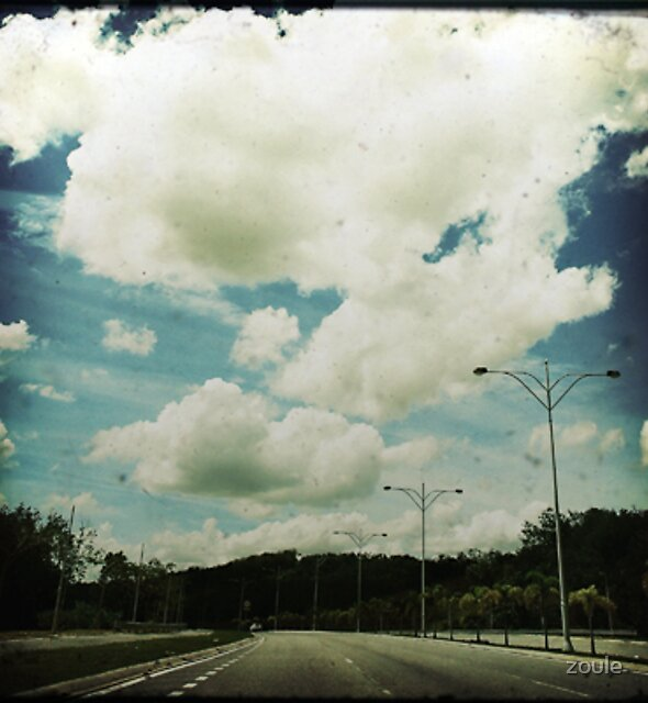 Faded Clouds by zoule