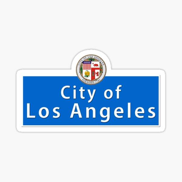 CALLE LOS ANGELES Pegatina