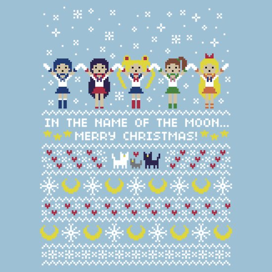 Sailor Moon Christmas Sweater.Moon Warrior Sweater Women S T Shirt A T Shirt Of Geek