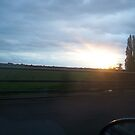 sunset over Kent by IB4A