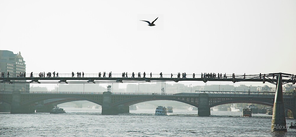 Millennium bridge by Alexh