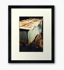 beijing cartwheel Framed Print