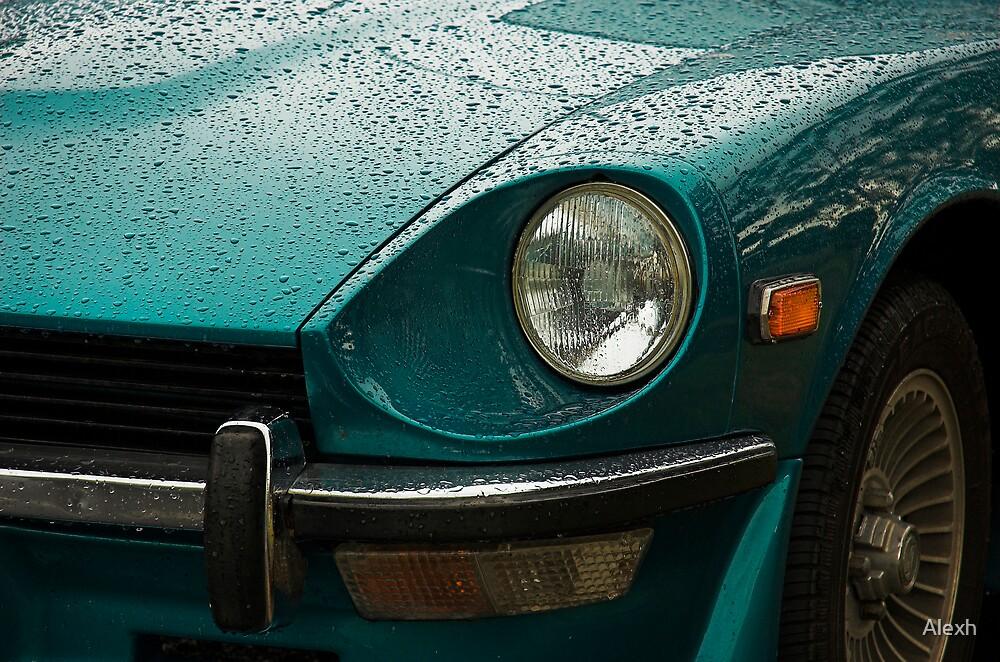 Datsun 240Z after a shower by Alexh