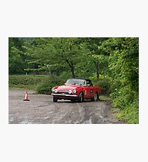 The Three Castles Welsh Trial 2014 Photographic Print