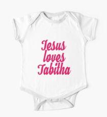 Jesus loves Tabitha One Piece - Short Sleeve