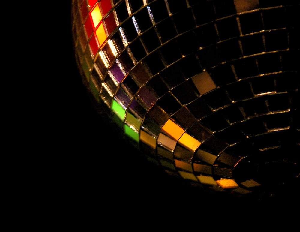 mirrorball.. by Leigh  Parkin