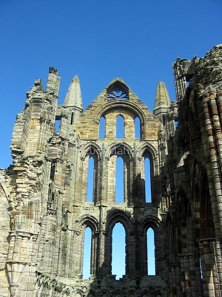 Whitby Abbey by Luci Mahon