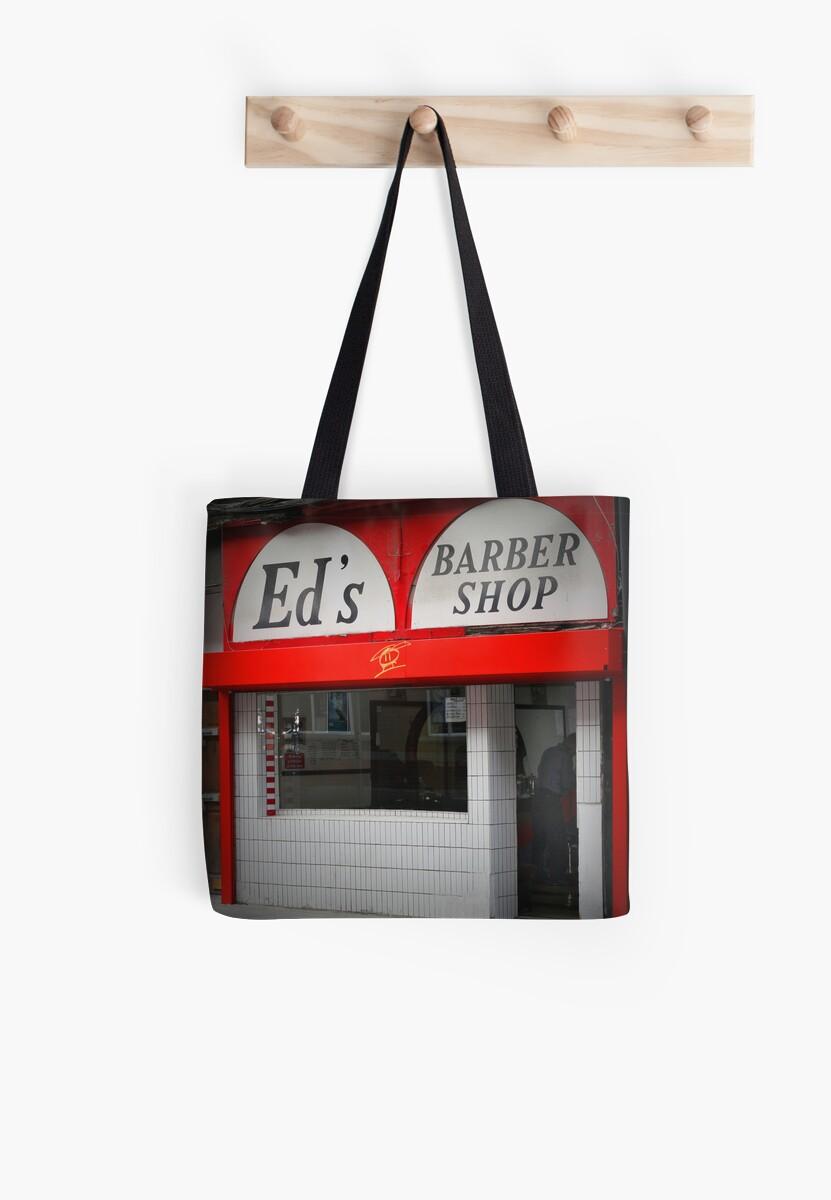 Ed's Barber Shop by AquaMarina