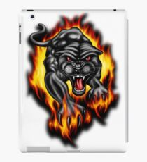 Panther Fire iPad Case/Skin