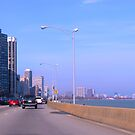 Chicago Morning Commute by daydremr