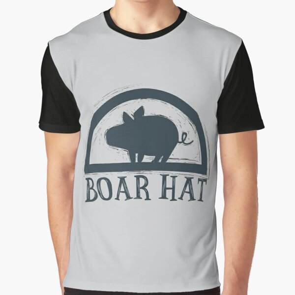 The Seven Deadly Sins (Boar Hat Bar) Graphic T-Shirt
