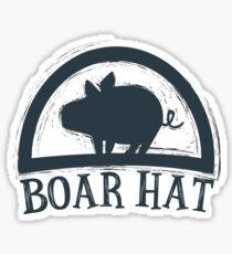 The Seven Deadly Sins (Boar Hat Bar) Sticker
