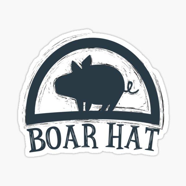 Les sept péchés capitaux (Boar Hat Bar) Sticker