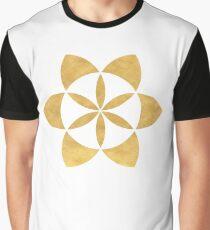 SEED OF LIFE minimal sacred geometry Graphic T-Shirt