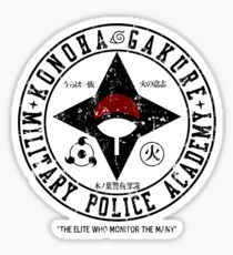 Hidden Military Police Academy Sticker