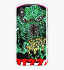 MISKATONIC PIZZA iPhone Case/Skin