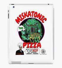 MISKATONIC PIZZA iPad Case/Skin