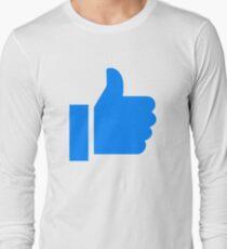 Messenger Thumbs Up Long Sleeve T-Shirt
