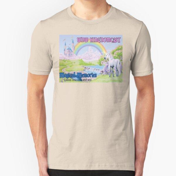 Kingdomcast Magical Memories - Limited Time Magic Slim Fit T-Shirt