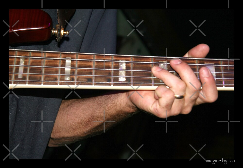COPE Bassist Kenny by Lisa Hildwine