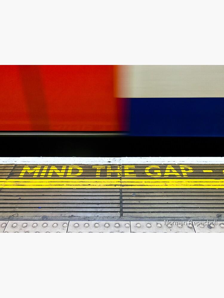 Mind the Gap - London UK by keystone