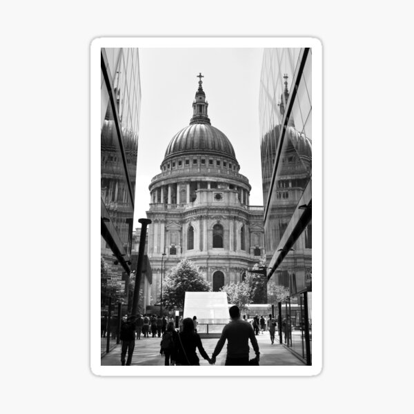 Together - St Pauls Cathedral London - UK Sticker