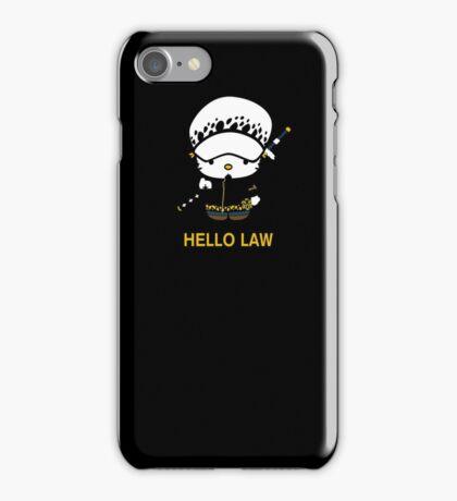 Hello Trafalgar Law iPhone Case/Skin