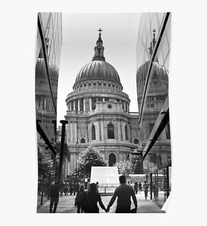 Together - St Pauls Cathedral London - UK Poster