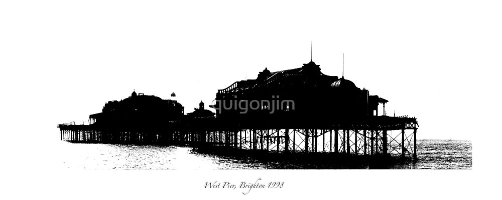 West Pier, Brighton c.1998 by quigonjim