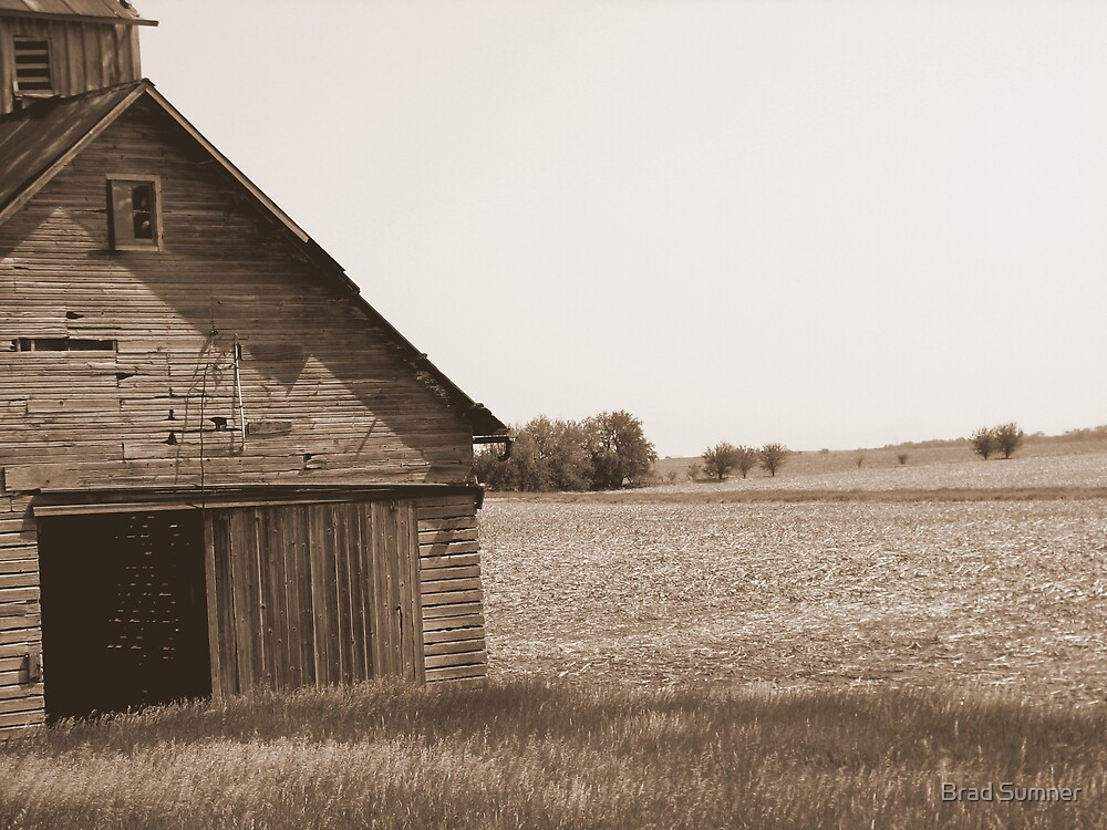 Old Barn by Brad Sumner