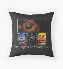 Five nights at Freddy's 2 Throw Pillow