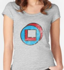 Square in Circle - Legion chapter 2 Women's Fitted Scoop T-Shirt
