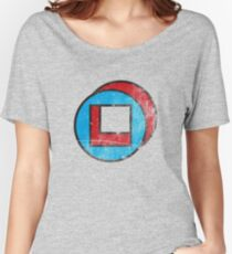 Square in Circle - Legion chapter 2 Women's Relaxed Fit T-Shirt