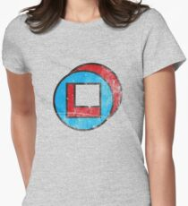 Square in Circle - Legion chapter 2 Womens Fitted T-Shirt