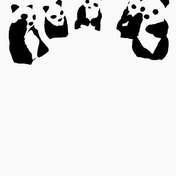 PANDA t-shirt by ralphyboy