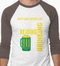 Saint Patrick's Day fun Men's Baseball ¾ T-Shirt