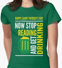 Saint Patrick's Day fun Womens Fitted T-Shirt