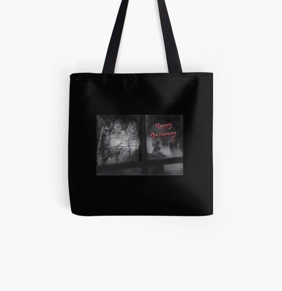 Happy Gothmas All Over Print Tote Bag