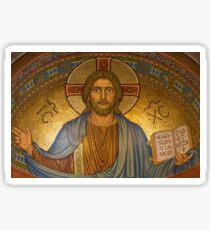 Jesus Christ Mosaic Easter Gift Sticker