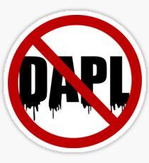 #nodapl Sticker