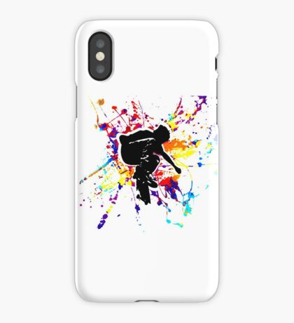 skateboarding t-shirt iPhone Case/Skin