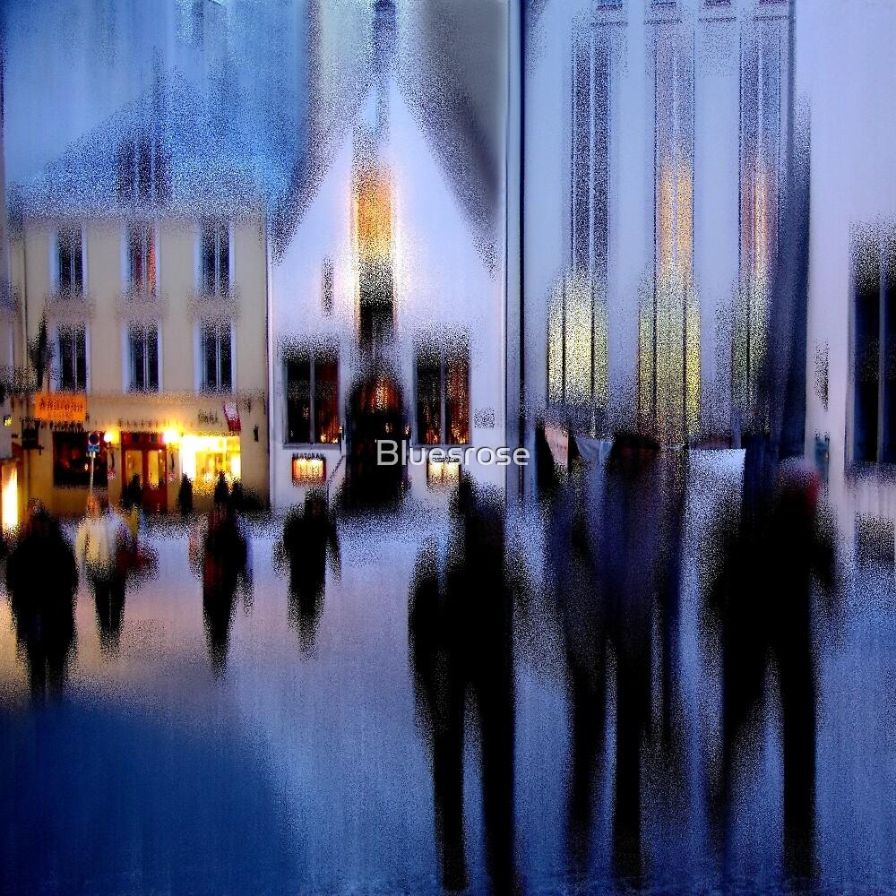 Frozen town by Bluesrose