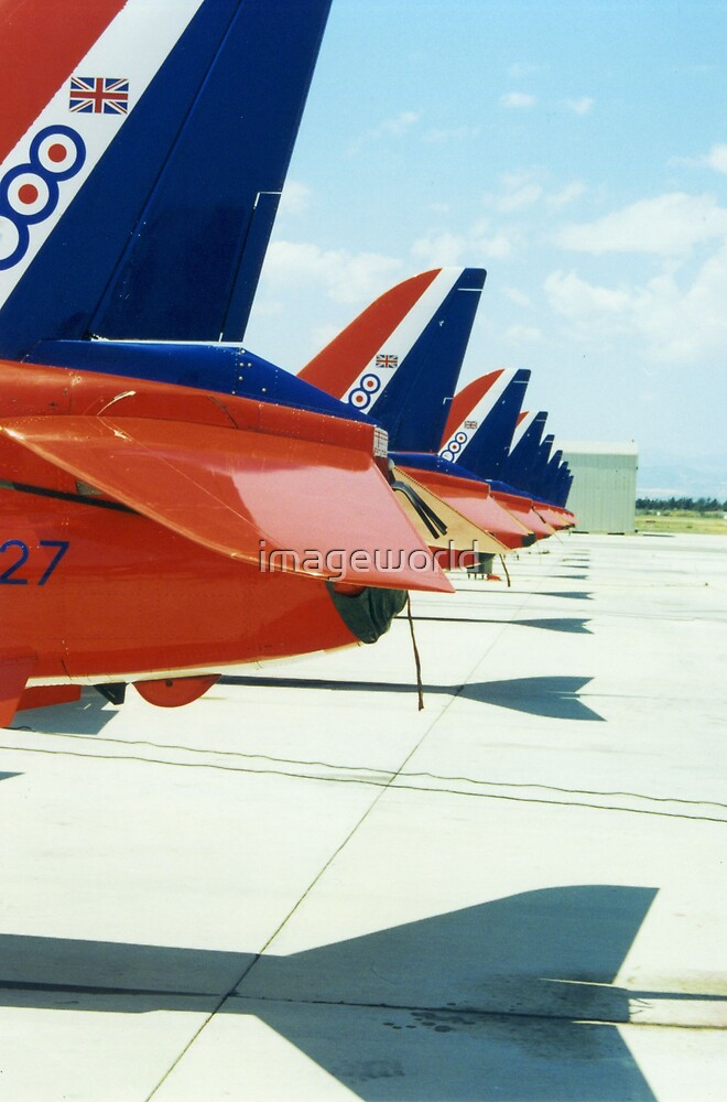 Red Arrows by imageworld