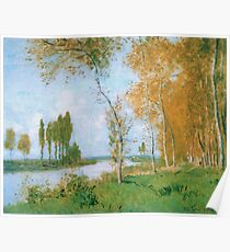 Claude Monet - The Spring In Argentuil, 1872 Poster