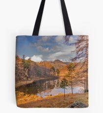 Autumn at Blea Tarn Tote Bag