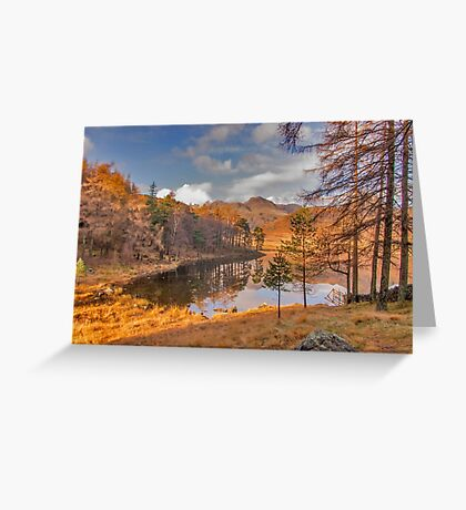 Autumn at Blea Tarn Greeting Card