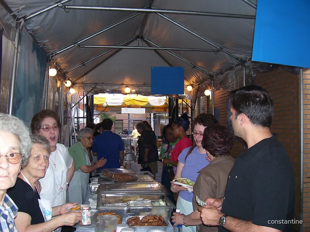 Greek food by constantine
