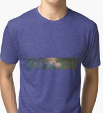 Claude Monet - The Water-Lily Pond 1914 Tri-blend T-Shirt